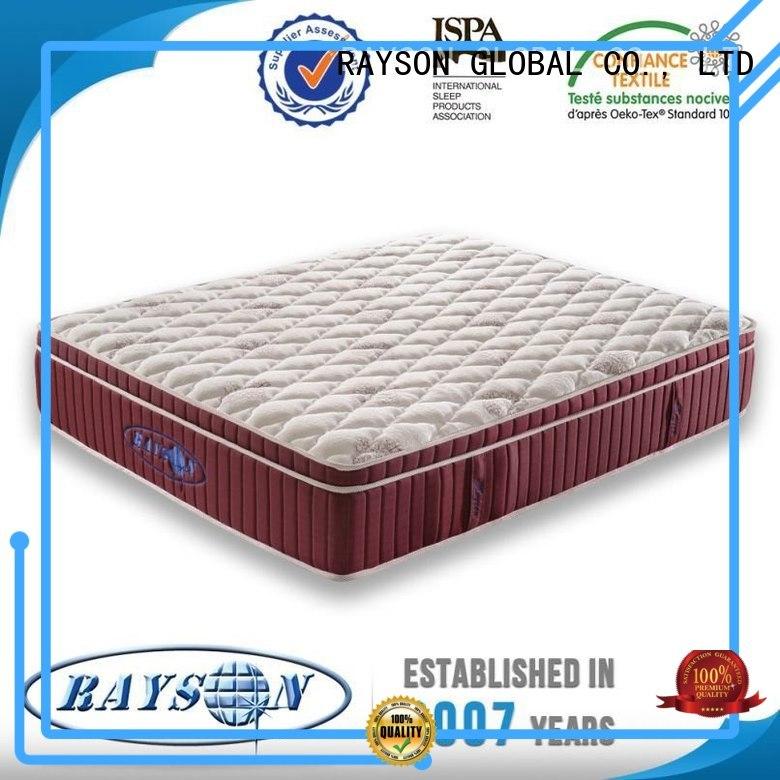 Rayson Mattress euro hotel bed comforter Supply