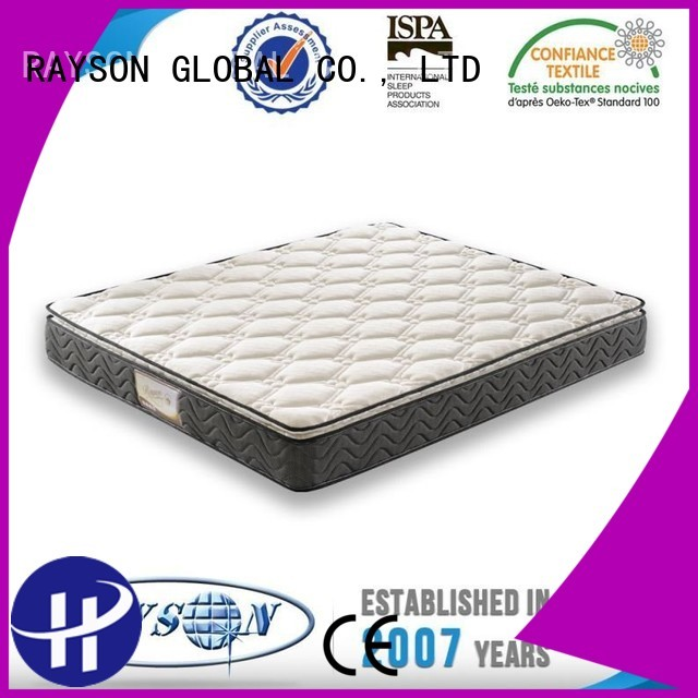 Quality Rayson Mattress Brand apartment customizable bonnell spring mattress benefits