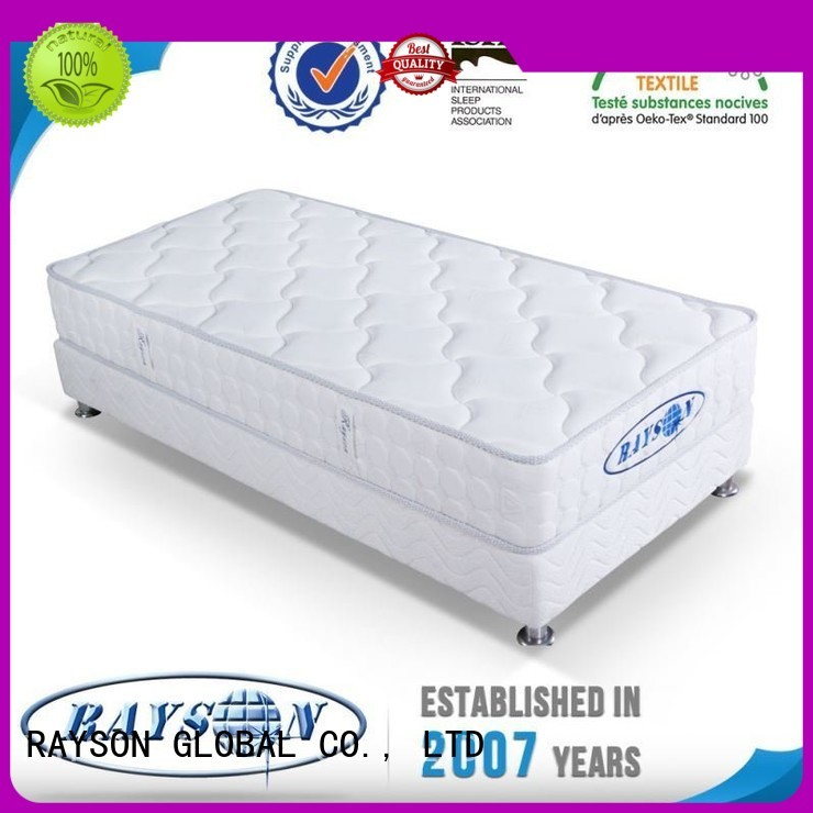 Rayson Mattress customized memory foam and coil spring mattresses series for villa
