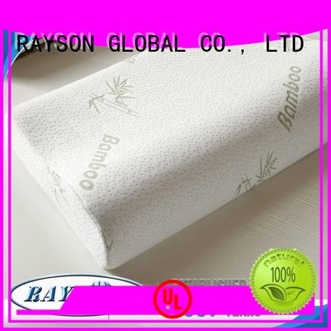 cool contour memory foam pillow tree toppocket therapeutic Rayson Mattress Brand
