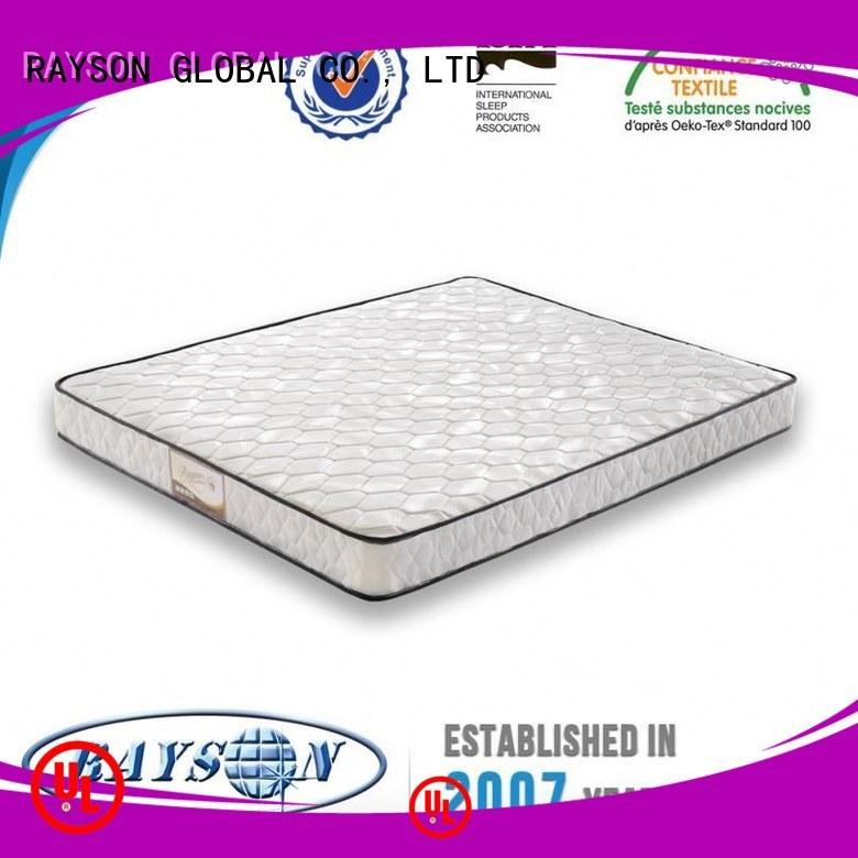 Rayson Mattress high quality Rolled bonnell spring mattress Suppliers