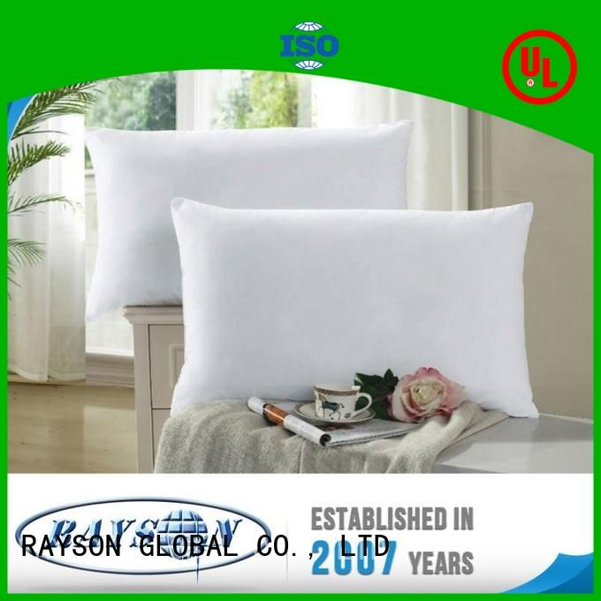 Rayson Mattress high grade polyester stuffing for pillows Supply