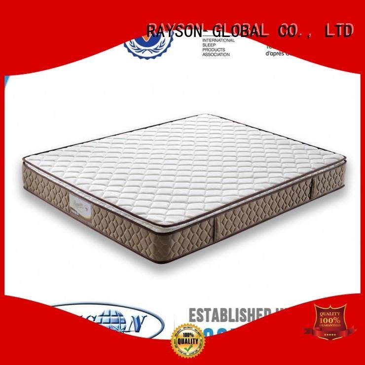 sleeping bonnell spring and memory foam mattress manufacturer for home Rayson Mattress