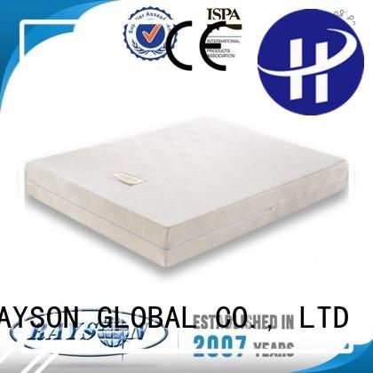 opening wedge 14 memory foam mattress and bed Rayson Mattress Brand