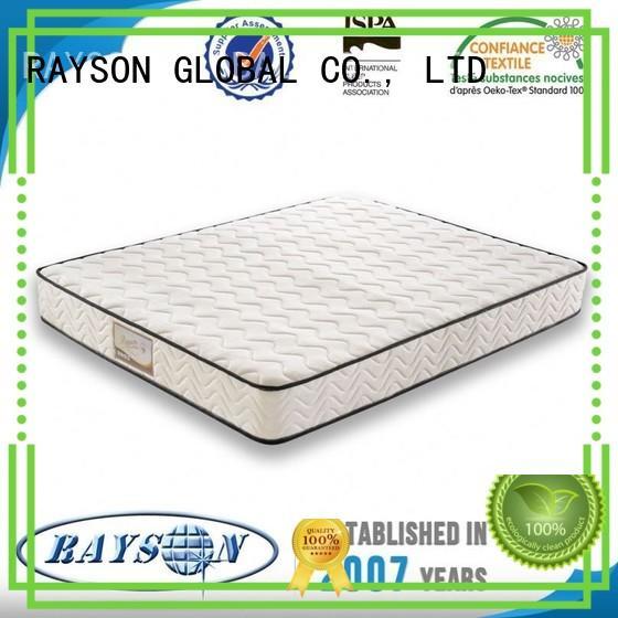 rspsm tight top 10 pocket sprung mattress two Rayson Mattress Brand company