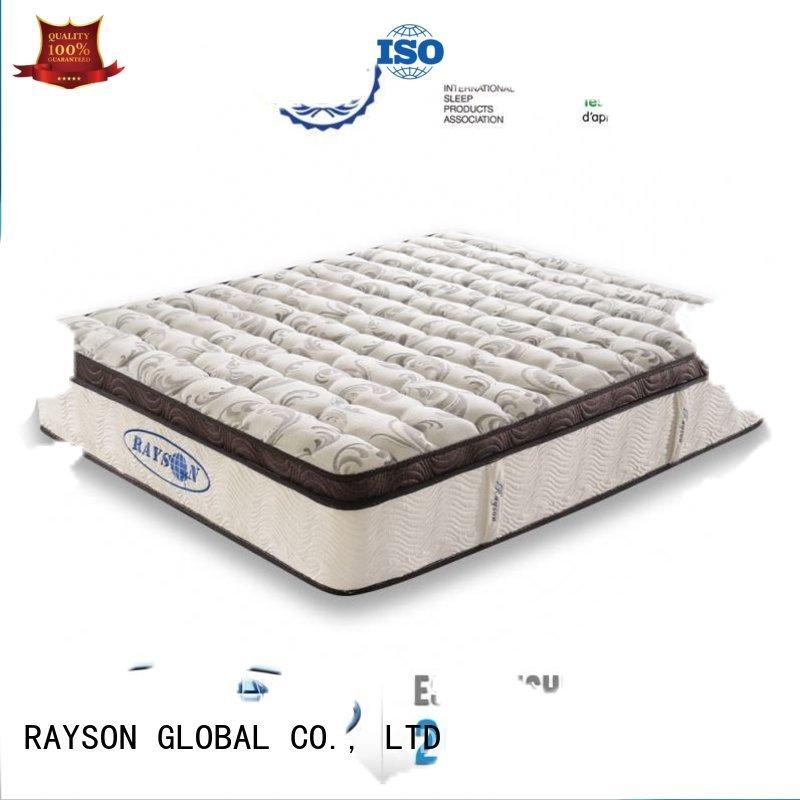 Rayson Mattress Brand size polyester low star hotel mattress barcelona