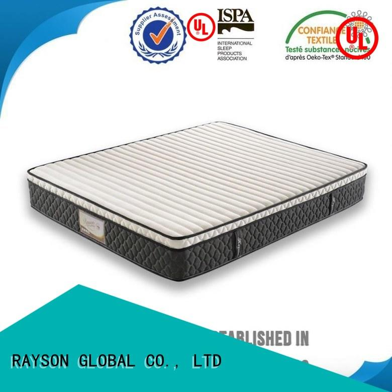 Rayson Mattress Top pocket sprung mattress firm Supply