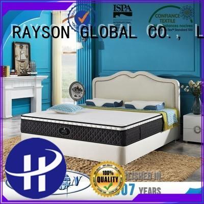 Rayson Mattress Custom sprung and memory mattress Supply