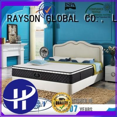 Rayson Mattress Custom sprung and memory mattress Supply