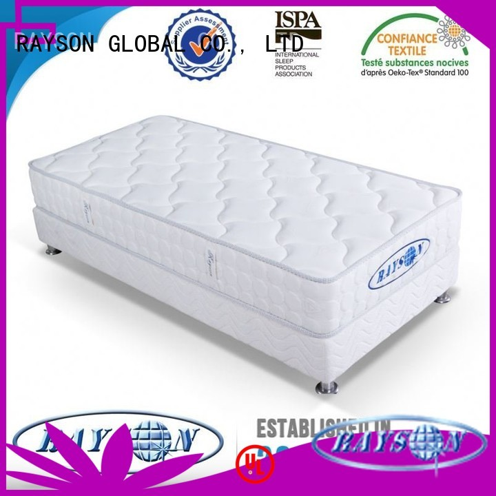 memory foam and coil spring mattresses matttress wedge continuous spring mattress pad Rayson Mattress Brand