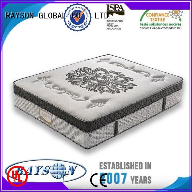 Rayson Mattress Brand bamboo classic heath pocket sprung and foam mattress