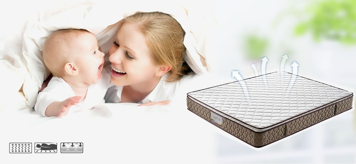 Rayson Mattress-Comfortable King size pillow top Bonnell Spring Mattress Buy bonnell spring mattress