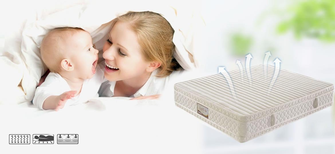 Rayson Mattress-Good Resilience Bonnell Spring Mattress Durable bonnell spring orthopaedic mattress