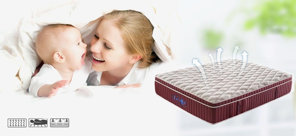 Rayson Mattress-Luxurious Gel Memory Foam Encased pocket spring Mattress Efficient gel pocket mattre