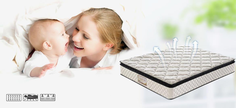Rayson Mattress-5 Zoned Pillow Top Pocket Spring Mattress , Memory Foam Orthopaedic Mattress Buy ope
