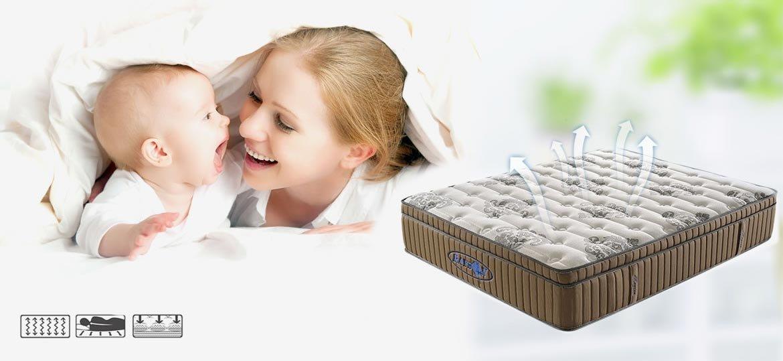 Rayson Mattress-Euro top Pocket spring mattress RSP-MP Cheap pocket mattress Company Rayson Mattress