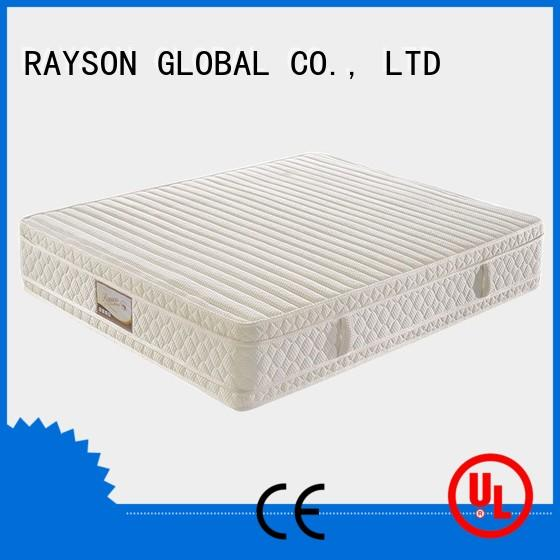 Rayson Mattress customized bonnell memory foam and sprung mattress wholesale for hotel