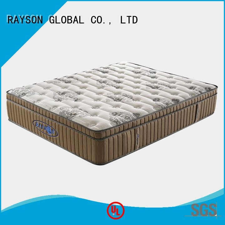 Rayson Mattress collection single bed spring mattress price Supply