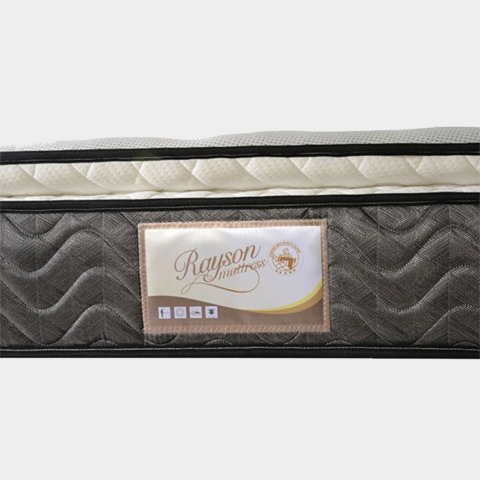 Floral 3 Zoned Pillow Top Pocket Spring Latex Mattress