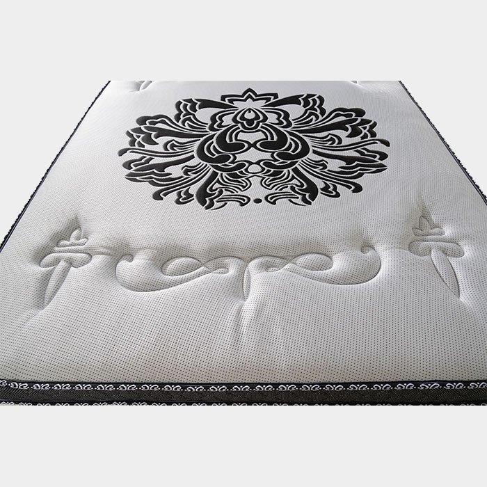 Luxury Euro Top Pocket Spring Mattress With Memory Foam