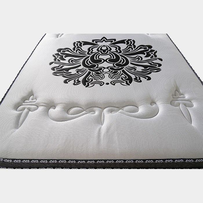 Luxury Euro Top Pocket Spring Mattress With Memory Foam