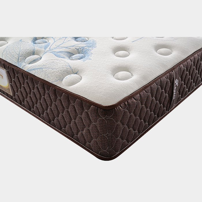 Memory Foam Pocket Spring Mattress Cotton Knitted Fabric
