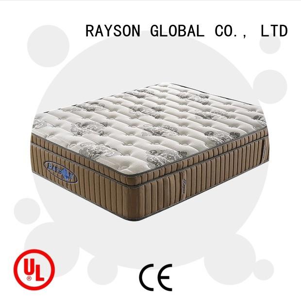 Custom matresses hard soft pocket sprung king size mattress Rayson Mattress hospital