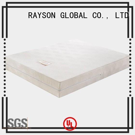 high quality high density foam mattress vs spring supplier for hotel Rayson Mattress