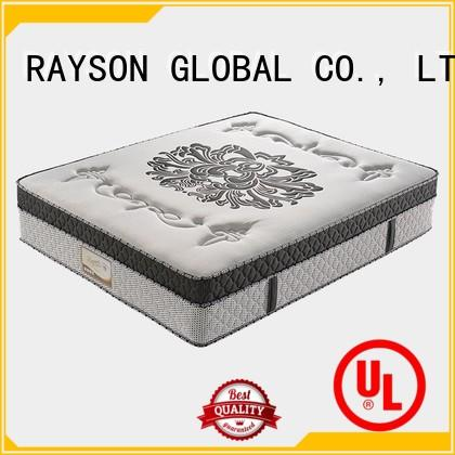 top 10 pocket sprung mattress 10inch back soft pocket sprung king size mattress flower Rayson Mattress Brand