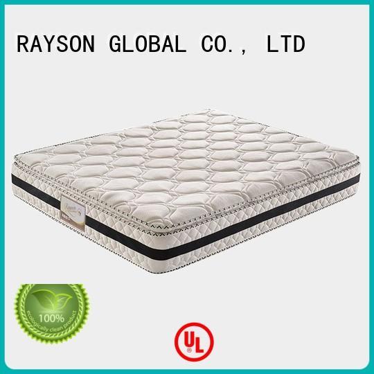 Rayson Mattress Custom memory foam and pocket spring mattress Suppliers