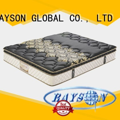 Rayson Mattress customized cooling tufted bonnell spring mattress tricot for hotel