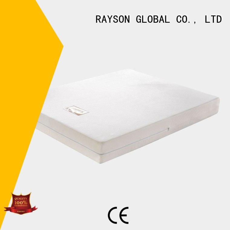 Rayson Mattress Brand continuous Sponge Mattress Topper luxury factory