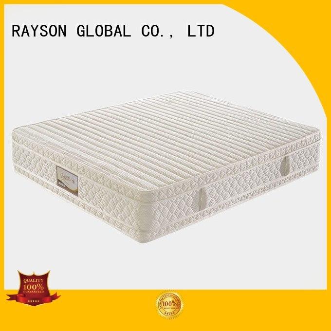 sense nature cooling tufted bonnell spring mattress websites Rayson Mattress Brand company