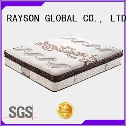 Rayson Mattress customizable pocket spring mattress with memory foam topper Suppliers