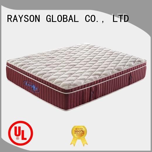 Quality Rayson Mattress Brand korea effect soft pocket sprung king size mattress