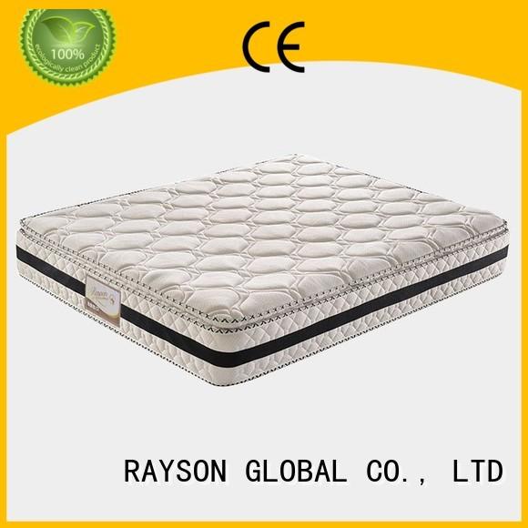 Hot medicinal top 10 pocket sprung mattress head Rayson Mattress Brand
