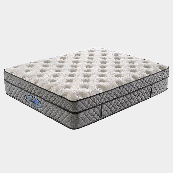 Euro Top Two Layers Bonnell Memory Foam Mattress