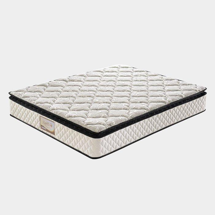 5 Zoned Pillow Top Pocket Spring Mattress , Memory Foam Orthopaedic Mattress