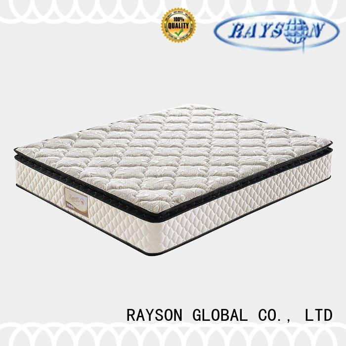 Rayson Mattress Brand lowest soft pocket sprung king size mattress friendly factory