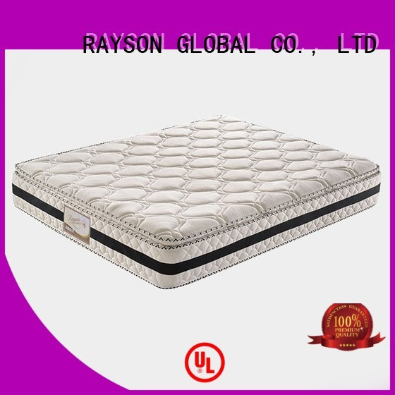 knitted single pocket coil mattress series for home Rayson Mattress