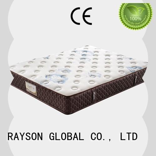 Rayson Mattress latest single pocket coil mattress supplier for hotel