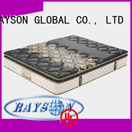 material decorative cooling tufted bonnell spring mattress customer Rayson Mattress Brand company