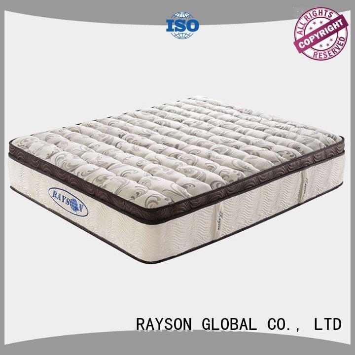 Hot top 10 pocket sprung mattress single Rayson Mattress Brand