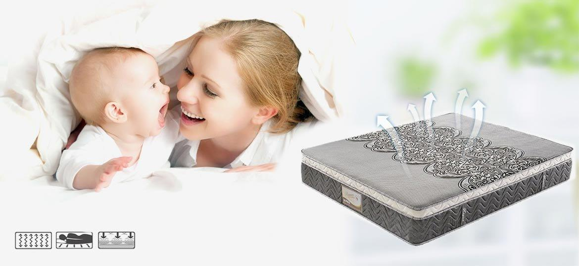 Rayson Mattress-High-quality Sophisticated Memory Foam Pocket Spring Mattress With Knitted