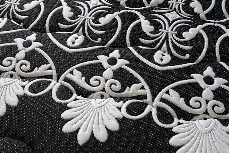 Pillow top euro top 14 inch coil spring mattress