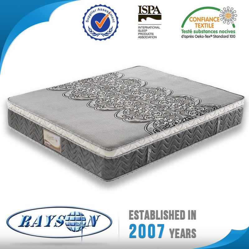 Queen size memory foam pocket spring mattress