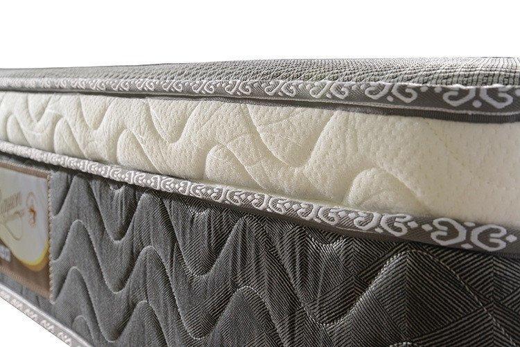 Queen size memory foam pocket spring mattress