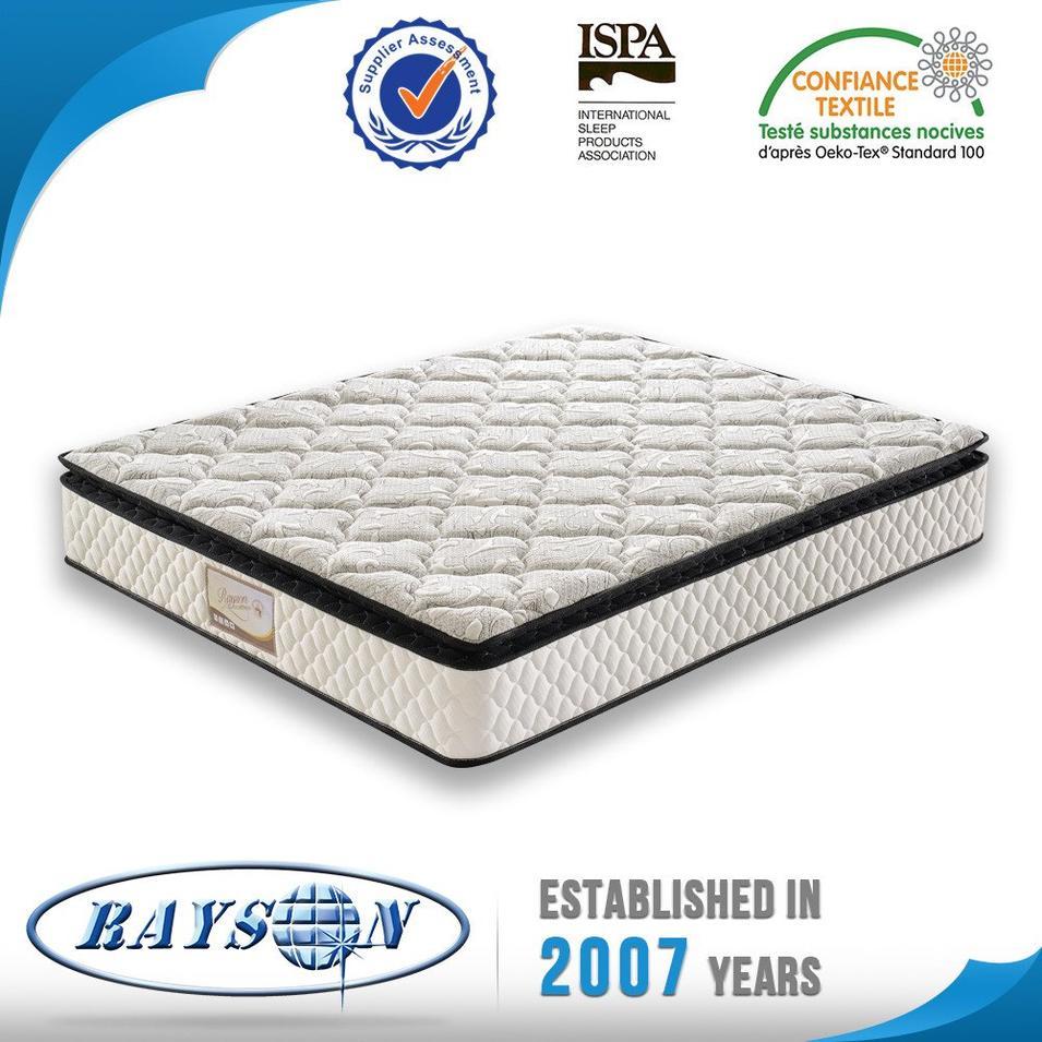 Hot selling pillow top king pocket spring mattress