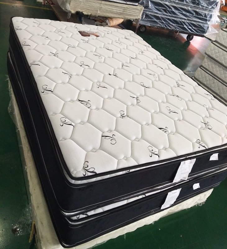 Double sides usage continuous spring mattress