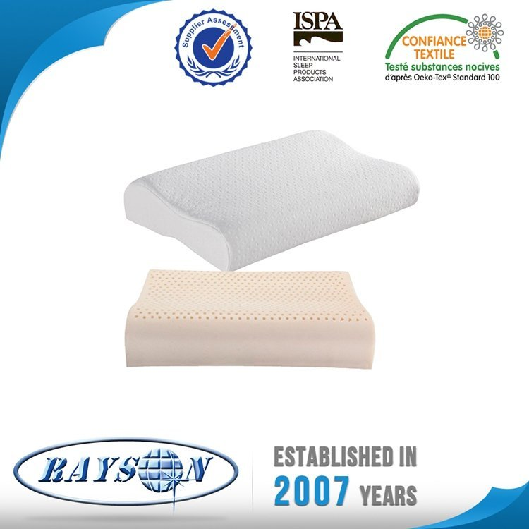 Latex pillow with cover